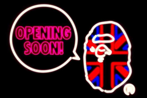 A Bathing Ape London Re-opening Announcement