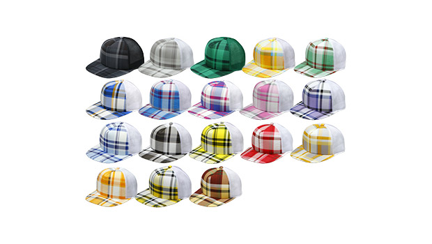 A Bathing Ape BAPE STORE(R) Exclusive Plaid Hats