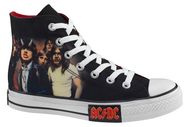 AC/DC & Metallica x Converse Chuck Taylor All Star Hi