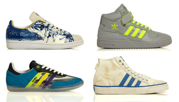 adidas Originals 3-Way: VA / D-Mop / ACU / Crooked Tongues