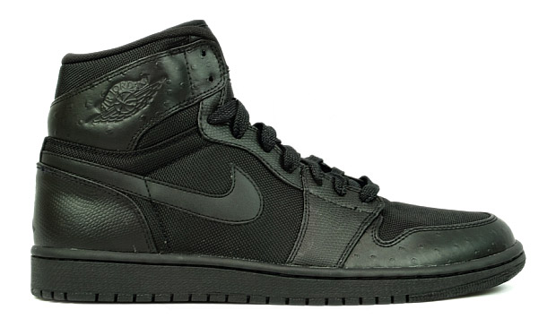 "Air Jordan 1 Retro High ""Black Ostrich"""