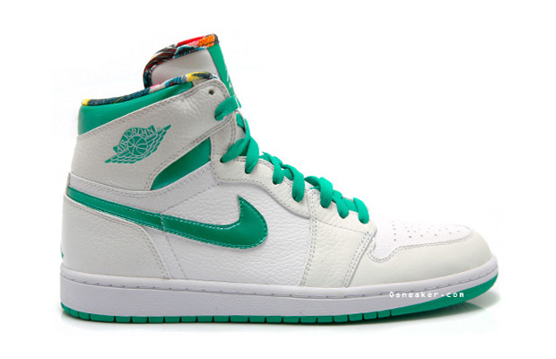 "Air Jordan 1 Sea Green ""Do The Right Thing"" Sneaker"