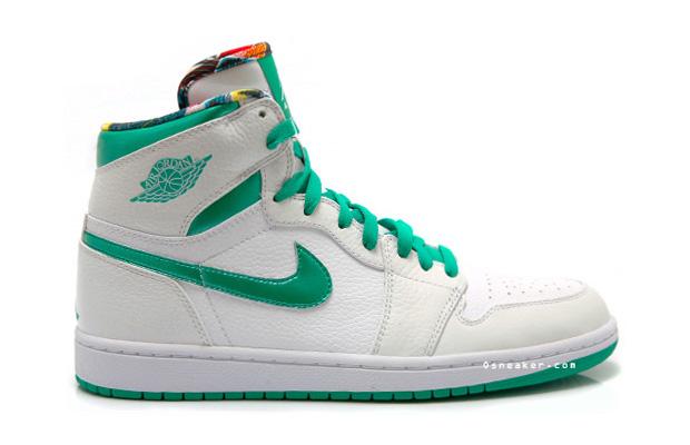 "Air Jordan 1 Sea Green ""Do The Right Thing"" Sneaker"