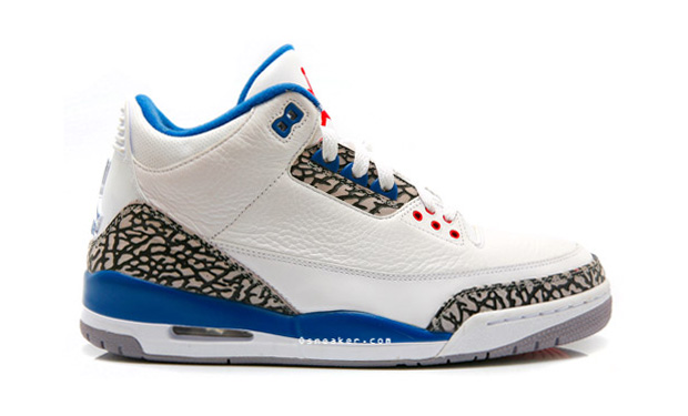 Air Jordan III (3) True Blue Retro