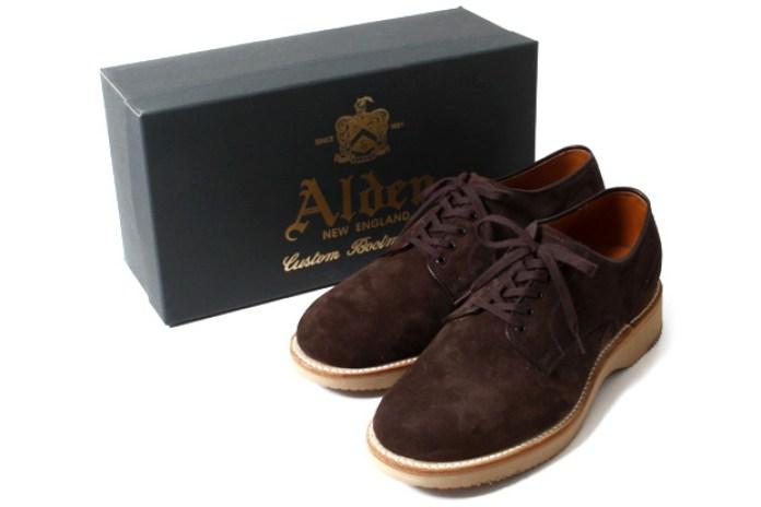 Alden Suede Plain Toe Shoes