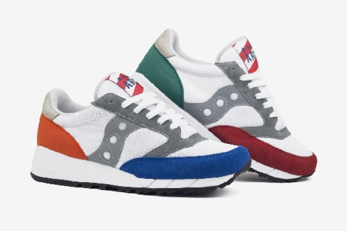 "ALIFE Rivington Club x Saucony ""Jazz Shadow"""