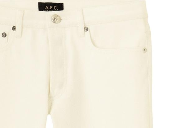 A.P.C. Petit Standard Off White Denim