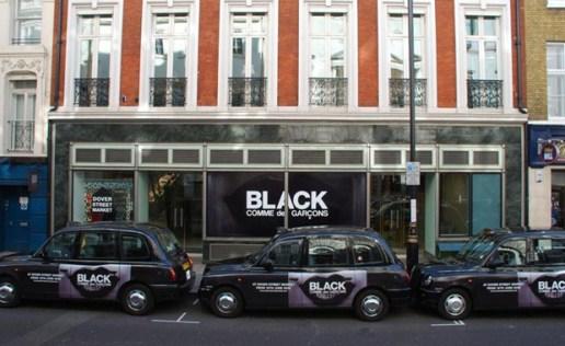 COMME des GARCONS BLACK London Opening @ Dover Street Market