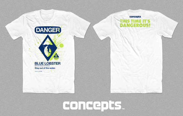 "Concepts ""Blue Lobster"" T-shirt"