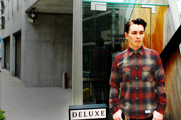 Deluxe x Pendleton Wool Check Shirt