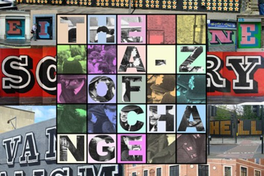 "Eine   ""The A - Z of Change"" Exhibition Los Angeles"