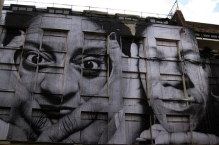 BBC: Faces of the favelas with JR