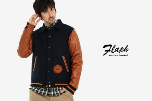FLAPH Ground Varsity Jacket
