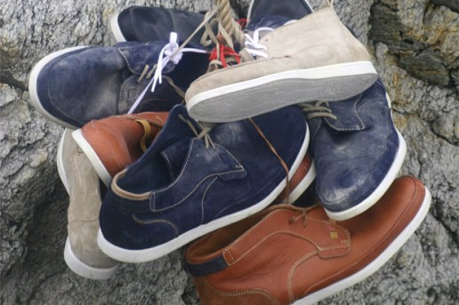 Folk x Edwin 2010 Spring/Summer Footwear Collection
