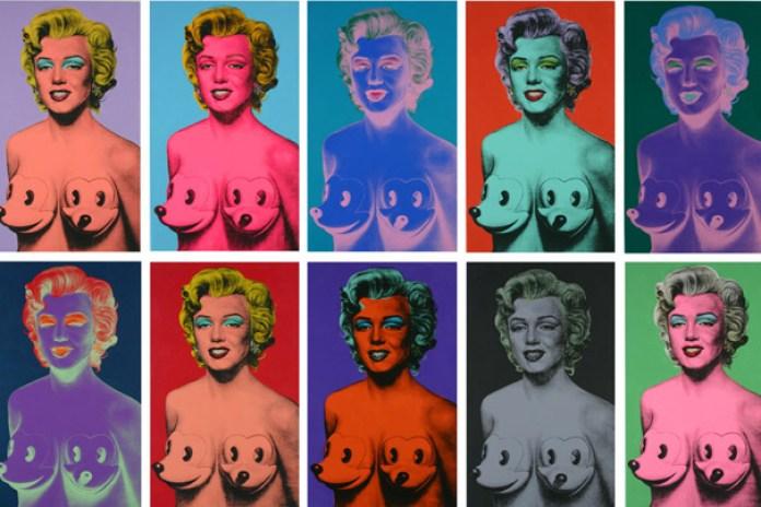 "Garageworks Industries x Ron English ""Marilyn Mickies"" Prints & Bust"