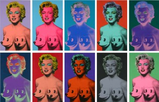 "Garageworks Industries x Ron English ""Marilyn Mickies"" Prints & Bust"
