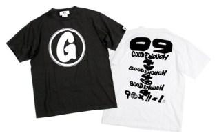 """GOODENOUGH """"Debut"""" T-shirts"""