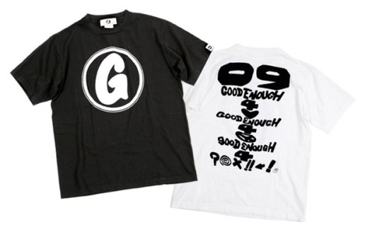 "GOODENOUGH ""Debut"" T-shirts"