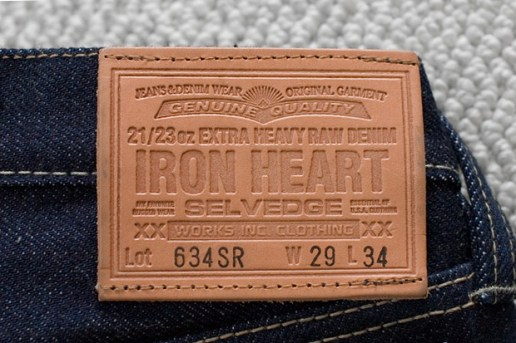 Iron Heart 5th Anniversary Jean 23oz Denim