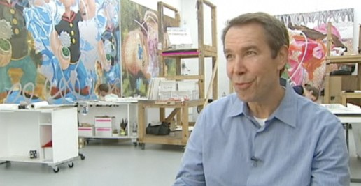 Inside the Jeff Koons Studio