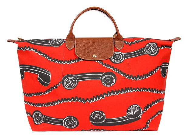 Jeremy Scott for Longchamp Phone Print Bag