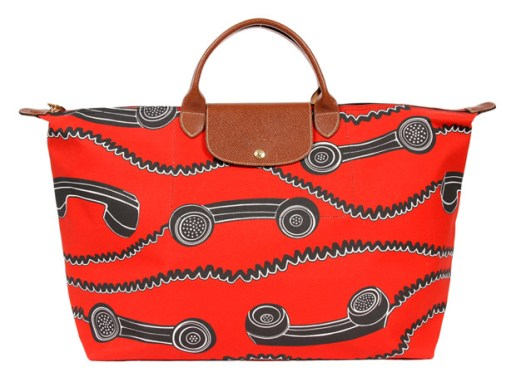 Jeremy Scott for Longchamp Phone Print Bag