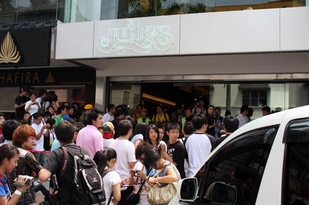 JUICE Kuala Lumpur Store Opening Recap