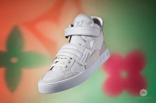 Kanye West Louis Vuitton Footwear Photoshoot