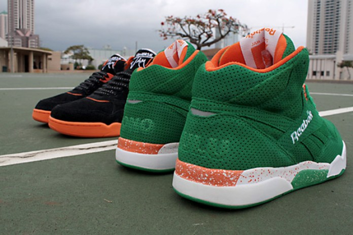 KICKS/HI x Reebok Reverse Jam Collection