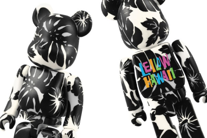 Leilow Hawaii x Medicom Toy Bearbrick