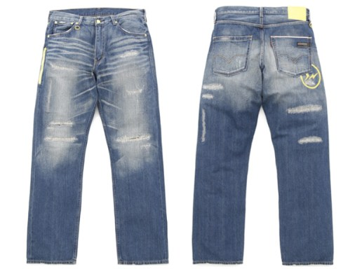 Levis Fenom Light oz Sunderys Light Washed Denim