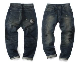 "Machi x Devilock ""Strength, Honor and Loyalty"" Denim"