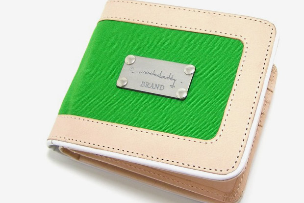 MACKDADDY Natural Leather Zip Wallets