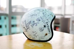 Maison Martin Margiela for Les Ateliers Ruby Helmet