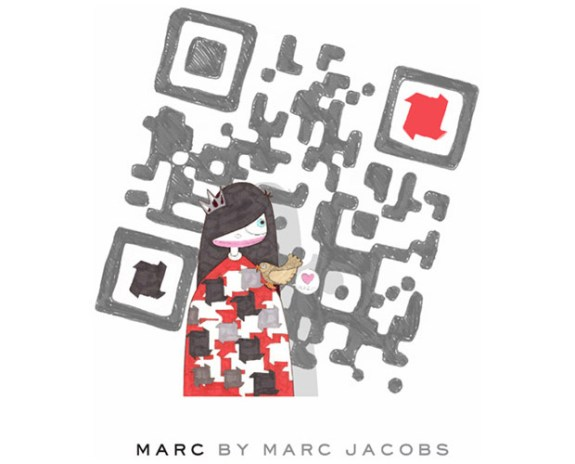 "Marc by Marc Jacobs ""Miss Marc"" QR Code"