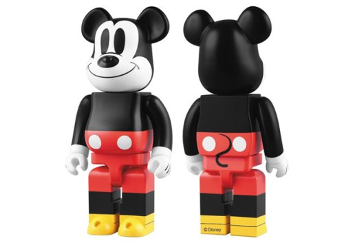 "Medicom Toy 1000% ""Mickey Mouse"" Bearbrick"