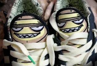 Mysterious Al x adidas Superstar Vulc Sneakers