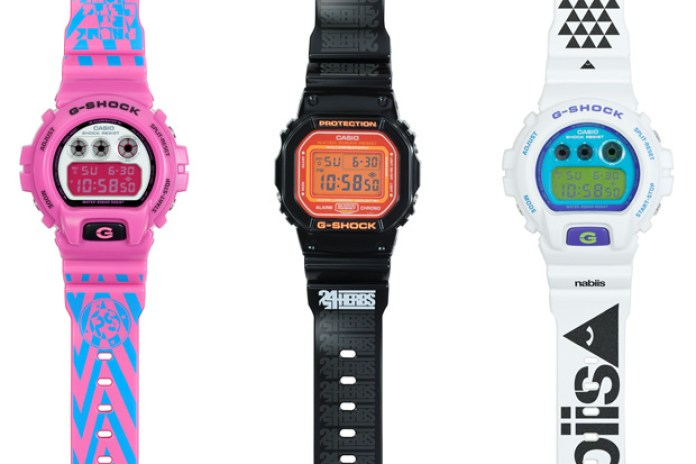 "Nabiis | 24HERBS | phunk x CASIO G-SHOCK ""SHOCK THE WORLD"" Artist Series Watches"