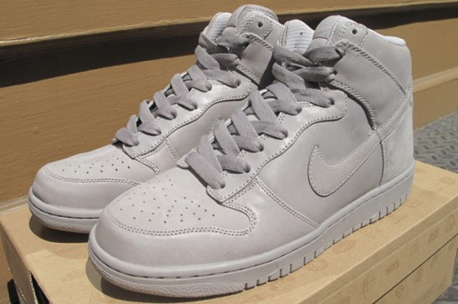"Nike Dunk Hi Supreme ""All Grey"" Colorway"