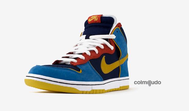 Nike SB Dunk Hi Pac-Man