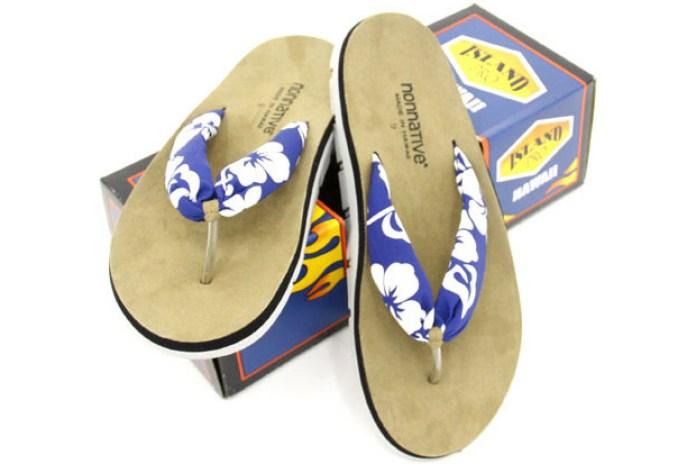 """nonnative x Island Slipper """"Aloha"""" Sandals"""