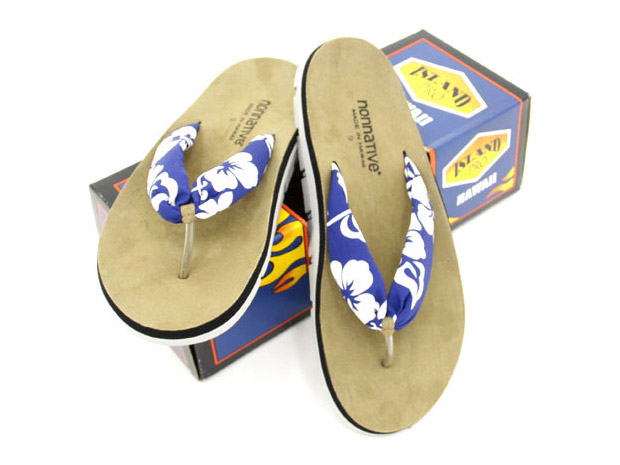 "nonnative x Island Slipper ""Aloha"" Sandals"