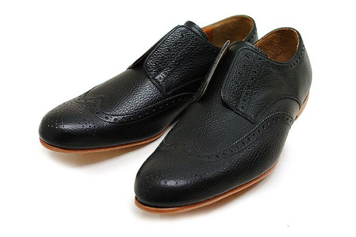 Number (N)ine Leather Wingtip Shoes