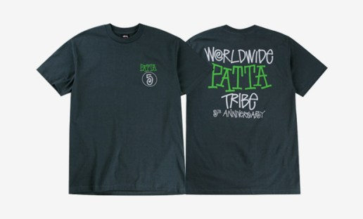 Patta x Stussy 5th Anniversary T-Shirt