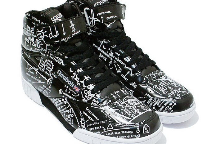 "Reebok Ex-O-Fit Hi ""Basquiat"" Pack"