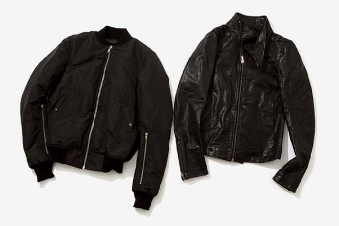 Rick Owens 2009 Fall/Winter Outerwear
