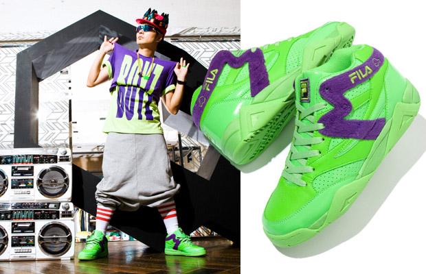 "Samurai Magazine x MACKDADDY x Fila ""Mack Squad"" Sneakers"