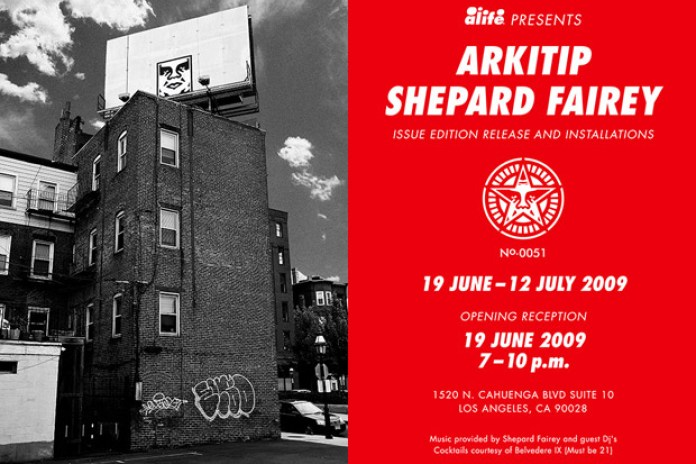 Shepard Fairey x ALIFE x Arkitip Issue No. 0051 Launch Event
