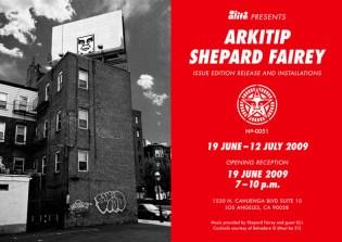 Shepard Fairey x ALIFE x Arkitip Issue No. 0051 Launch Event