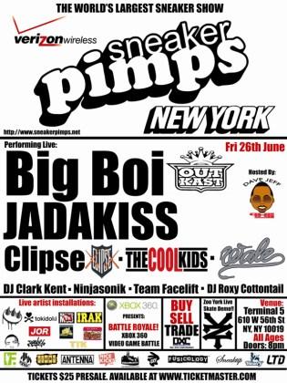 Sneaker Pimps New York
